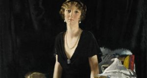 Detail from The Portrait of Lady Idina Wallace by Sir William Orpen
