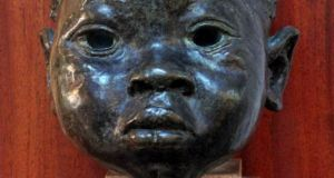 An image of Lot 86 Sir Jacob Epstein, Head of a Negro Boy, Bronze, 20cm high, Estimate €8,00.00 -€10,000.00