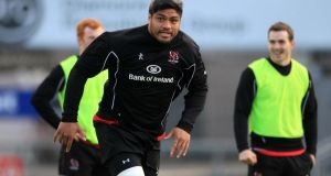 Ulster's  Nick Williams returns to the backrow.