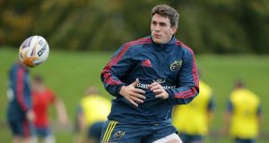 Ian Keatley to return for Munster against Ospreys. Photograph: Morgan Treacy