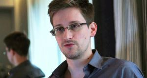 The Guardian report cited  documents leaked by fugitive former US National Security Agency contractor Edward Snowden. Photograph:  Glenn Greenwald/Laura Poitras/Courtesy of The Guardian
