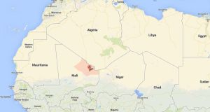 Both journalists, from French radio station RFI, were seized in Kidal in north Mali.  Image: Google Maps
