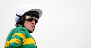 Tony McCoy at Stratford-Upon-Avon racecourse last week. Thc champion jockey is ready to record another mind-boggling achievement. Photograph: Alan Crowhurst/Getty Images