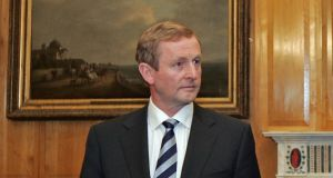 "Taoiseach Enda Kenny: ""The Government decides what policy is."" Photograph: Eric Luke"