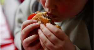 The research found that children consumed an average of 134 less calories a day when they got an early night. Photograph: Bryan O'Brien/The Irish Times.
