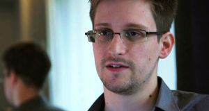 NSA whistleblower Edward Snowden: has sought political asylum in Russia. File photograph: Glenn Greenwald/Laura Poitras/Courtesy of The Guardian/Handout via Reuters