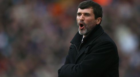 The then manager of Sunderland manager Roy Keane shouts instructions during the Barclays Premier League match between Aston Villa and Sunderland held in March 2008.  Keane is to become Republic of Ireland assistant manager and will report in to Martin O'Neill Photograph: Ian Walton/Getty Images