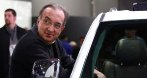 Sergio Marchionne, chief executive of Fiat and Chrysler. Photograph: Fabrizio Costantini/New York Times