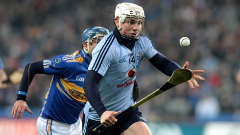 2013 GAA/GPA Hurling All-Star No 6: Dublin's Liam Rushe. Photograph: Cathal Noonan/Inpho