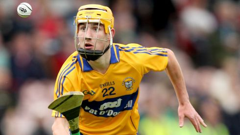 2013 GAA/GPA Hurling All-Star No 8: Clare's Colm Galvin in action during his county's succesful 2013 campaign.  Photograph: James Crombie/Inpho