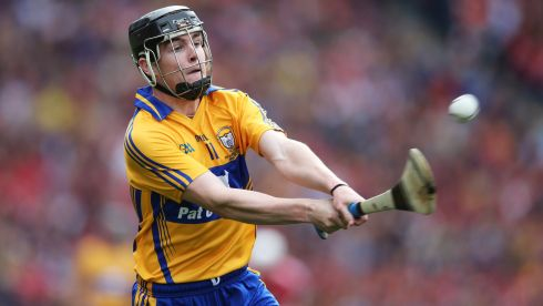 2013 GAA/GPA Hurling All-Star No 11: Clare's Tony Kelly Photogragh:  Cathal Noonan/Inpho