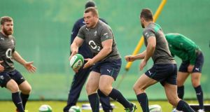 Jack McGrath will make his first Ireland appearance against Samoa this weekend. Photograph: Billy Stickland/Inpho