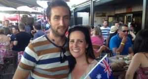 Irish in Australia: Sarah Jane Hurley and Dave Mullane in Perth, Western Australia