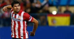 Atletico Madrid's Diego Costa has been called up to the Spain squad. Photograph: Susana Vera/Reuters