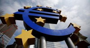 """In a week that saw the EU downgrade, again, its economic forecasts for next year, the only surprise really is that everyone is so surprised by a logical and rational response from the ECB."" Photograph: Reuters/Lisi Niesner"
