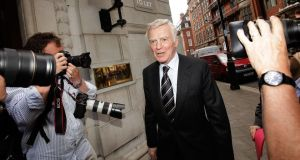 Max Mosley, the former head of Formula One racing.