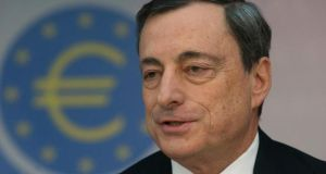 Mario Draghi, president of the European Central Bank, warned that further action, particularly on the banking sector, is required in Ireland despite the country's success in implementing the bailout programme.