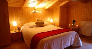 Highlife chalet bedroom