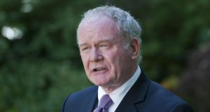 "Martin McGuinness: claimed any deaths of civilians in IRA operations were due to ""mistakes"". Photograph: PA"