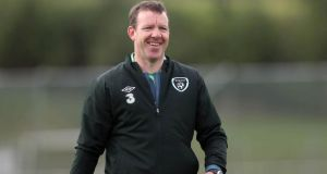 Goalkeeping coach Alan Kelly has parted company with the senior international set-up. Photograph: Donall Farmer/Inpho