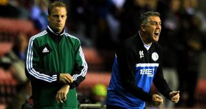 Wigan Athletic manager Owen Coyle Photograph: Chris Brunskill/Getty Images