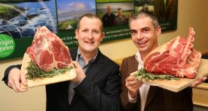 Niall Browne, chiek executive, and Charlie Coakley, environmental sustainability manager, Dawn Meats