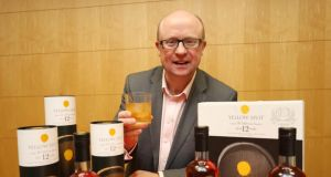 Kevin O'Gorman, operations director, Irish Distillers: Yellow Spot whiskey re-launched in 2012