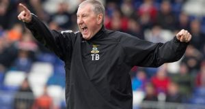 Hibernian have confirmed Terry Butcher as their new manager. Photograph:  Jeff Holmes/PA