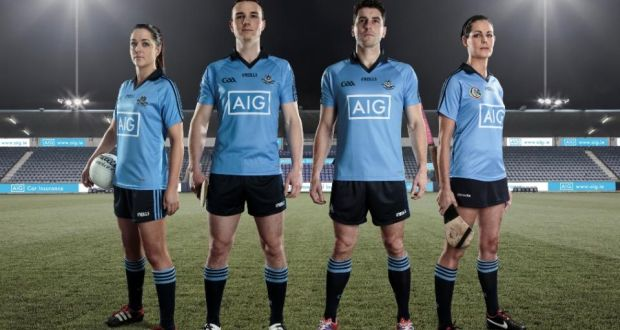 1594b38ef9e Dublin players Sinéad Goldrick, Liam Rushe, Bernard Brogan and Louise  O'Hara in
