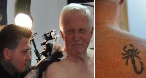 Dimbleby, who has been presenting the BBC's general election coverage since 1979, got the tattoo while making the maritime series Britain And The Sea