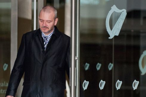 Thomas Byrne arriving at Dublin Circuit Criminal Court on Monday November 11th, 2013. Photograph: Collins Courts