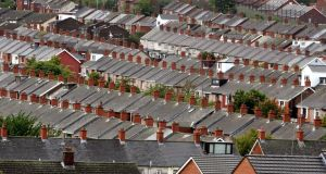 Houses in the Ardoyne area of north Belfast. File Photograph: David Sleator/The Irish Times