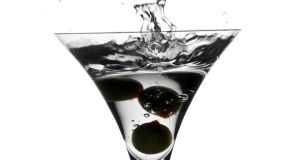 A Dirty Martini