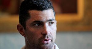 Rob Kearney at Carton House yesterday. Photograph: Dan Sheridan/Inpho