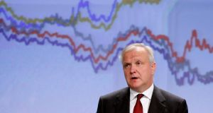 EU economic and monetary affairs commissioner Olli Rehn: he suggested an inquiry could help end a long-running dialogue between Germany and its critics. Photograph: Reuters/Francois Lenoir