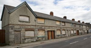 Before regeneration: St Michael's Road, Longford