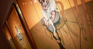 Francis Bacon's Three Studies of Lucian Freud which is poised to break the previous world auction record for the artist of $86 million achieved in 2008