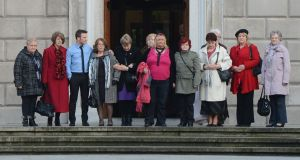 Survivors of Magdalene laundries: The Government has been asked to explain the lack of an independent inquiry into the laundries. Photograph: Alan Betson/The Irish Times