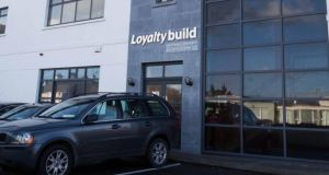 The Loyaltybuild premises on Station Road, Ennis, Co Clare. Photograph: Eamon Ward