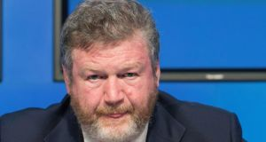 "Minister for Health James Reilly suggested today that  some health insurers were ""cherry-picking"" customers and as a result had lower proportion of older customers than their market share. Photograph: TheIrish Times"