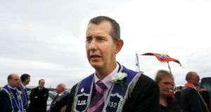 Edwin Poots: following what he believes to be the natural order. Photograph: Kate Geraghty