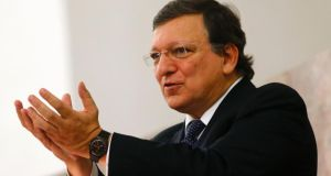 "European commission president José Manuel Barroso said German competitiveness was not the issue, but ""whether Germany, the European Union's economic powerhouse, could do more to help the rebalancing of the European Union economy"". Photograph: Reuters/Kai Pfaffenbach"