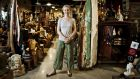 Crafty: Elizabeth Gilbert in the shop she runs with her husband. Photograph: Tom White/New York Times