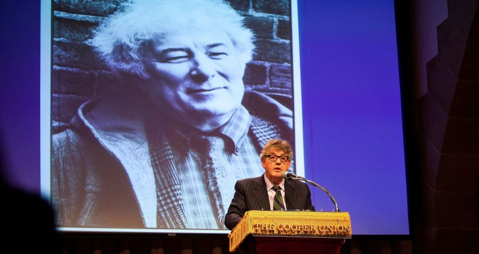 Seamus Heaney tribute in New York