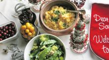 Saucy sides: simple stuffing, parsnip and cheddar bake, and more