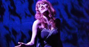 Carolyn Goodwin: vocally alluring as the chanteuse