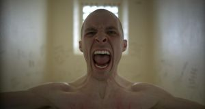 Boxed in: Tom Vaughan-Lawlor as Nidge in last weekend's Love/Hate finale