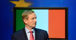 Taoiseach Enda Kenny and his Ministers took the view that everything possible should be done to point up the contrast with the way the State is exiting the bailout by comparison with the shambolic way it began in November 2010. Photograph: Frank Miller