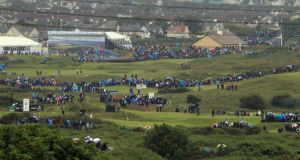 The 2012 Irish Open at Royal Portrush attracted record crowds for a European Tour event. Photograph: David Cannon/Getty Images
