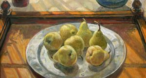 Pears In Window by Dutch artist Hilda van Stockum (€3,000-€5,000) at de Veres